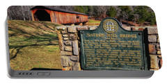 Watson Mill Covered Bridge 010 Portable Battery Charger by George Bostian
