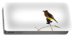 Waxwing Wonders Portable Battery Charger