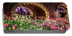 Welcoming Tulips Portable Battery Charger