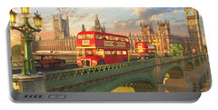 Westminster Bridge Portable Battery Charger by Dominic Davison