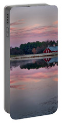 Portable Battery Charger featuring the photograph Westminster Town Pond by Mark Dodd
