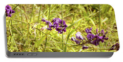 Portable Battery Charger featuring the photograph Wildflowers IIi by Cassandra Buckley