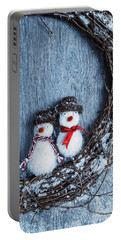 Winter Garland Portable Battery Charger