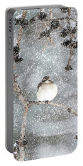 Winter Mockingbird Portable Battery Charger