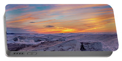 Winter Sunset Portable Battery Charger
