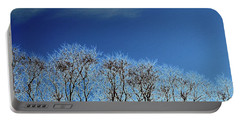 Winter Trees And Sky 3  Portable Battery Charger by Lyle Crump