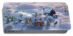 Winter Night  Portable Battery Charger