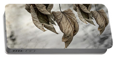 Withered Leaves Portable Battery Charger