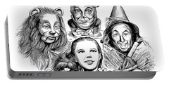 Wizard Of Oz Portable Battery Charger by Greg Joens