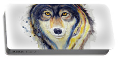 Wolf Head Portable Battery Charger