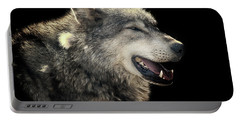 Wolf Rock Portable Battery Charger