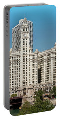 Wrigley Building Portable Battery Charger