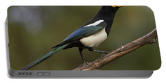 Yellow-billed Magpie Portable Battery Charger