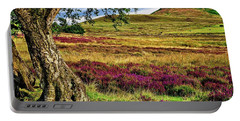 Yorkshire Moorland Heather Portable Battery Charger