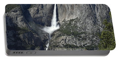Yosemite Falls From The Four Mile Trail Portable Battery Charger