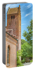 Portable Battery Charger featuring the photograph Ystad Monastery In Sweden by Antony McAulay
