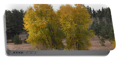 Aspen Trees In The Fall Co Portable Battery Charger