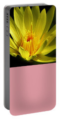Morning Bloom Portable Battery Charger