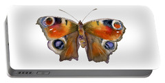 10 Peacock Butterfly Portable Battery Charger