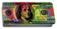 Benjamin Franklin - Full Size $100 Bank Note Portable Battery Charger