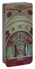 Portable Battery Charger featuring the photograph 100905 Star Of The Sea Painted Church Hi by Ed Cooper Photography