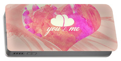 10183 You And Me Portable Battery Charger