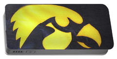 10724  Iowa Hawkeye Portable Battery Charger