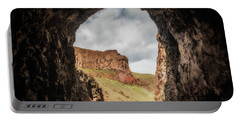 10888 Lake Owyhee Road Tunnel Portable Battery Charger by Pamela Williams