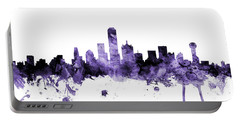 Dallas Texas Skyline Portable Battery Charger