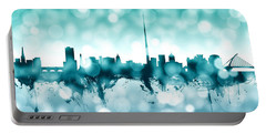 Dublin Ireland Skyline Portable Battery Charger