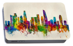 Los Angeles Skyline Portable Battery Chargers