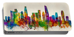 Los Angeles California Skyline Portable Battery Charger