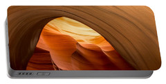 Lower Antelope Canyon Navajo Tribal Park #12 Portable Battery Charger