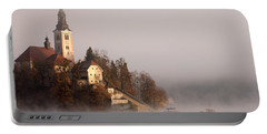 Misty Lake Bled Portable Battery Charger