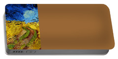 Wheatfield With Crows Portable Battery Charger