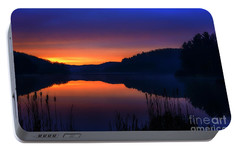 Portable Battery Charger featuring the photograph Winter Dawn by Thomas R Fletcher