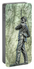 11th Pennsylvania Gettysburg Map  Portable Battery Charger
