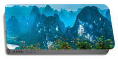 Karst Mountains Landscape Portable Battery Charger