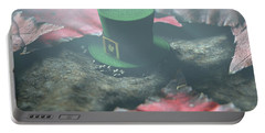 Lost Tiny Leprechaun Hat  Portable Battery Charger