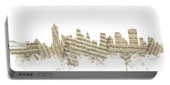 Memphis Tennessee Skyline Portable Battery Charger