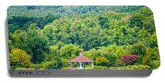 Scenery Around Lake Lure North Carolina Portable Battery Charger