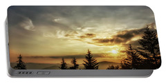 Summer Solstice Sunrise Portable Battery Charger by Thomas R Fletcher