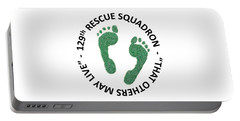 129th Rescue Squadron Portable Battery Charger
