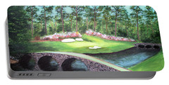 12th Hole At Augusta National Portable Battery Charger