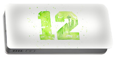 12th Man Seahawks Art Go Hawks Portable Battery Charger