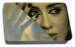 Adele Collection Portable Battery Charger by Marvin Blaine
