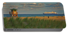 Portable Battery Charger featuring the photograph 13- Cruising In Paradise by Joseph Keane