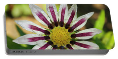 Nice Flower Portable Battery Charger by Elvira Ladocki