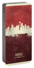 Seattle Washington Skyline Portable Battery Charger