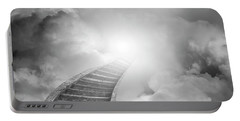 Portable Battery Charger featuring the photograph Stairway To Heaven by Les Cunliffe